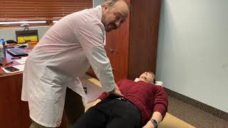 Instructional Video for Abdominal Inspection with Ileocecal Valve and Hiatal Massage
