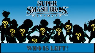 Final Roster Prediction! - Super Smash Brothers Ultimate! WHO IS LEFT?!