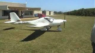 preview picture of video 'Airsport Viladamat. Inauguración hangares individuales parte 2 de 2'