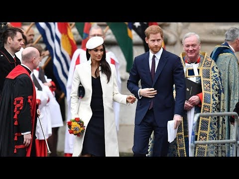 Meghan Markle joins Queen for Commonwealth Day