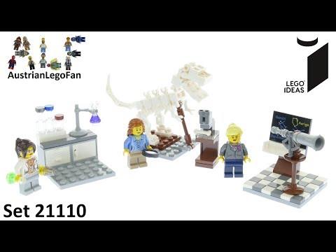 Vidéo LEGO Ideas 21110 : L'institut de recherches