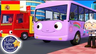 Canciones Infantiles | Las Ruedas del Autobus P. 9 | Dibujos Animados | Little Baby Bum en Español