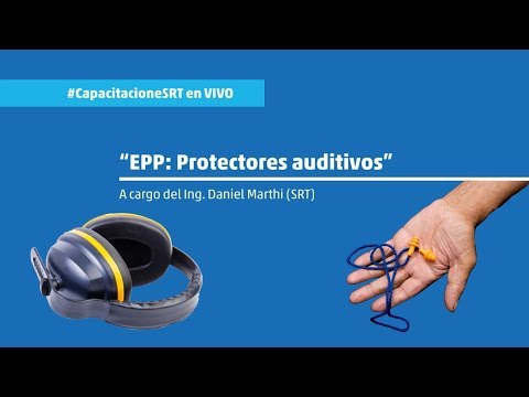EPP protectores auditivos - #CapacitacioneSRT
