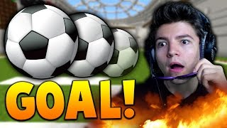 CRAZY GOAL! | Soccer In Minecraft With The Pack