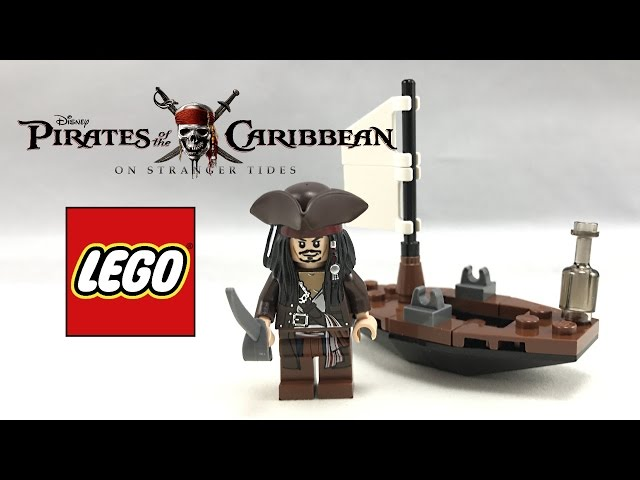 Rare LEGO Pirates of the Caribbean Jack Sparrow's Boat review! 30131!