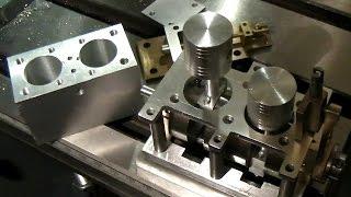 Optimum D180 x 300 Steam Engine Part-1 (Cylinder Block - A)