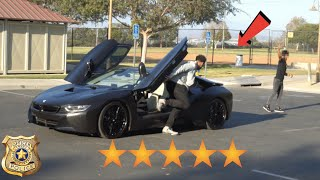 I Left My BMW i8 IN THE HOOD FOR 24 HOURS EXPERIMENT! I GOT ROBBED!
