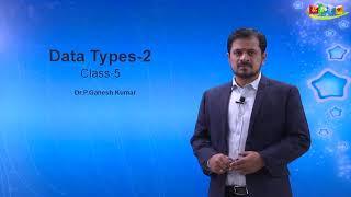 Python- Data types String,Byte and Byte array