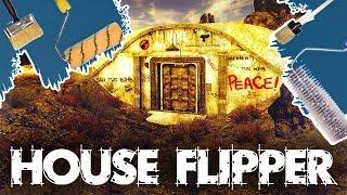 РЕМОНТ ДВУХ БУНКЕРОВ И ДЕТСКОГО САДА - HOUSE FLIPPER (стрим) #2