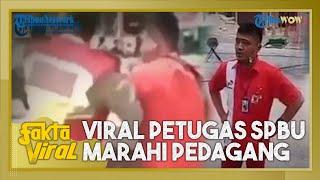 Fakta Viral Petugas SPBU di Bandung yang Marahi Pedagang Dikeroyok Massa, Ini Kata Saksi dan Polisi
