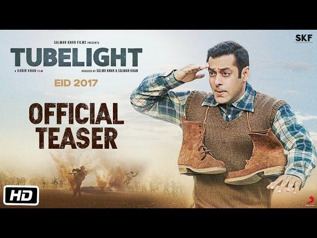Tubelight Official Teaser | Salman Khan | Kabir Khan | Hindi Movie Trailers 2017