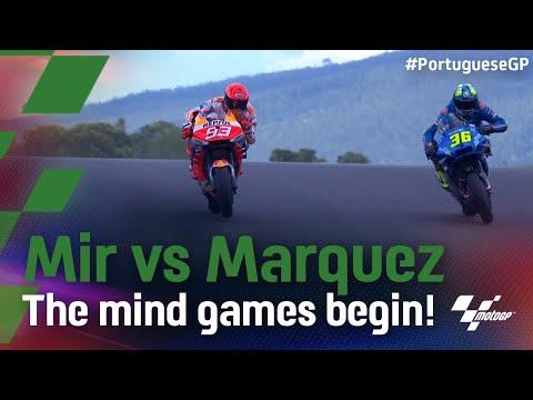 マルク・マルケス vs ジョアン・ミルのバトルを収めた動画 第3戦ポルトガルGP
