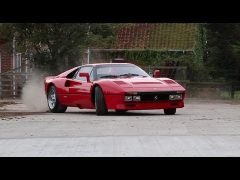 Ferrari 288 GTO Burnout