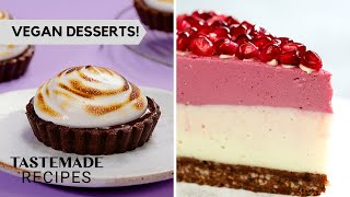 4 Easy & Irresistible Vegan Desserts You Need To Try by Tastemade