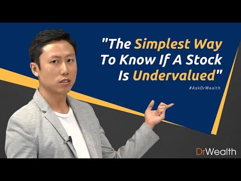 How To Tell If A Stock Is Undervalued?