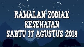 Ramalan Zodiak Kesehatan Hari Ini Sabtu 17 Agustus 2019