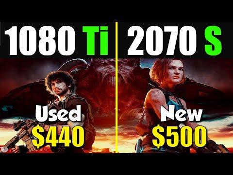 十代最強顯卡1080 Ti 對上 2070S
