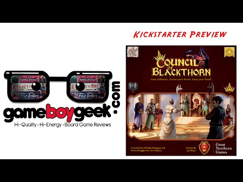 The Game Boy Geek Previews Council of Blackthorn