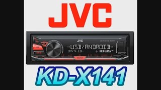 JVC KENWOOD KD X241 KD X141 unboxing box opening review car install android ipod iphone