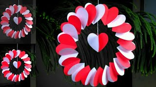 Valentine Paper Crafts | Heart Crafts With Paper | Heart Craft Ideas | Valentines Day Crafts