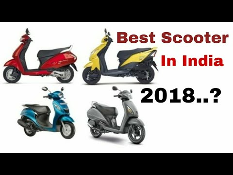 Best Scooter in 2018….???, Top 7 Scooters, Detailed descriptions