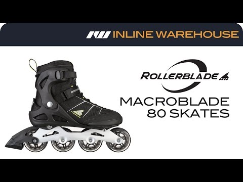2017 Rollerblade Macroblade 80 Skates For Men Review