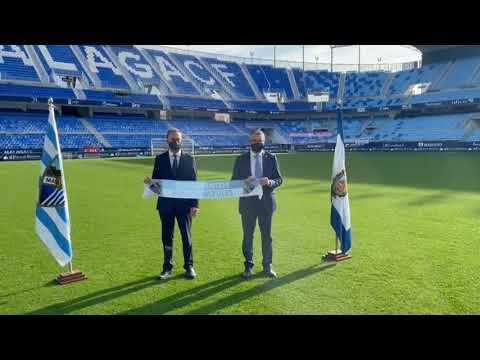 La Diputación se convertirá en el principal patrocinador del Málaga CF durante las dos próximas temporadas