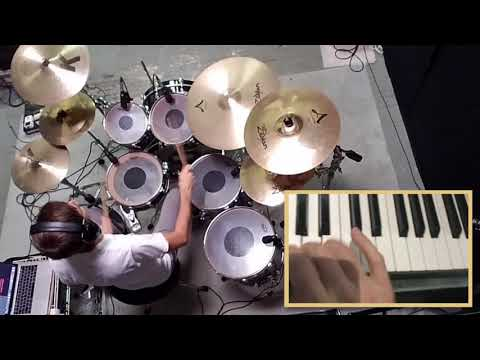 Unison Drum and Keyboard Solo with Jordan Rudess from Dream Theater
