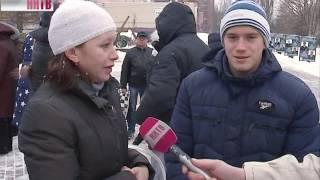 В Приокском районе сегодня провожали призывников