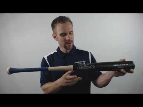 2017 Louisville Slugger Select I13 Maple Wood Baseball Bat w/ Lizard Skin Grip: WTLW7MI13A16