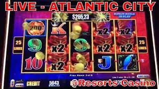 🔴LIVE from Atlantic City Casino - Brian Christopher Slots at RESORTS