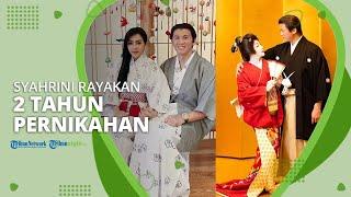 Bulan Madu di Jepang, Syahrini dan Reino Barack Rayakan 2 Tahun Pernikahan