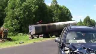 Авария в 40 км от Чагоды. Часть 1