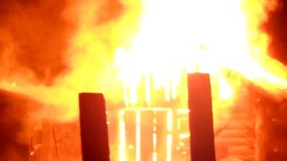 Как пожар спалил  Москве дачу