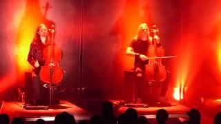 "Apocalyptica ""Sad But True"" (Metallica cover) Commodore, Van. BC. Sept23/17"