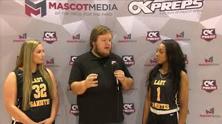 Hoops Media Day: Destiny Johnson & Isabella Regaldo