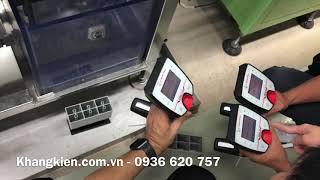 Kiểm tra tỷ trọng ắc quy bằng máy đo tỷ trọng anton Paar DMA 35