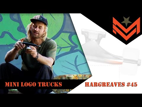 "Mini logo Trucks 7.63"" Raw (Set of 2)"