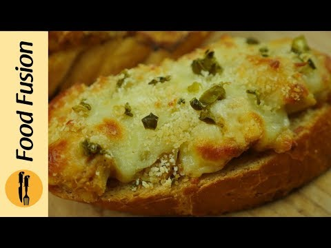 Chicken Cheese Open Sandwich Recipe By Food fusion