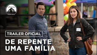 Divulgado o trailer do filme De Repente Uma Família