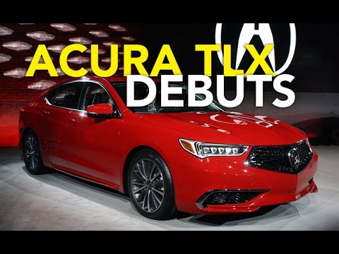 2018 Acura TLX First Look - 2017 New York Auto Show