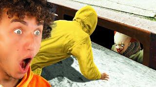 GTA 5 HUNTING Horror CLOWNS (Scary!)