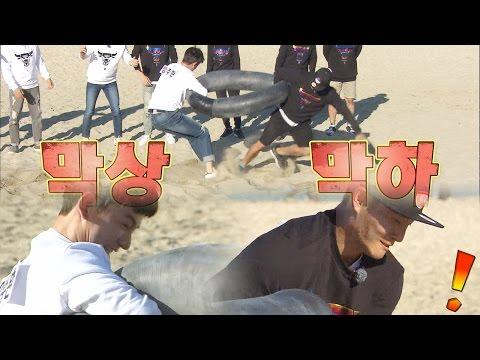 《FUNNY》 Running Man 런닝맨 임주환, 김종국 제압 EP398 20150927 (видео)