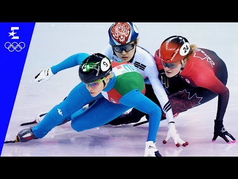 Short Track Speed Skating | Ladies' 500m Highlights | Pyeongchang 2018 | Eurosport