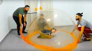 GIANT SLiME BuBBLES!! IN OuR HOUSE!!!