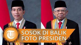 Terungkap Sosok di Balik Foto Resmi Presiden Jokowi dan Wapres Ma'ruf Amin yang Baru Saja Dirilis