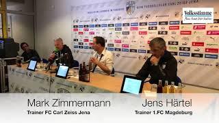 PK nach FCM-Spiel gegen Jena