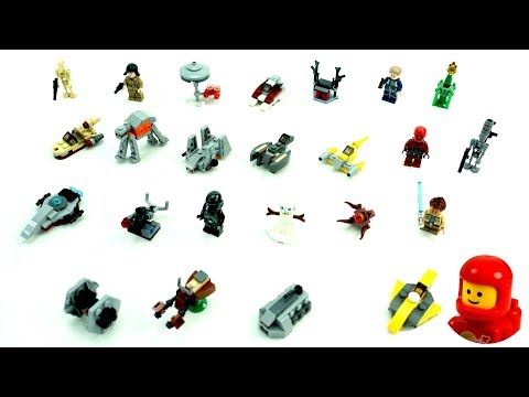 Vidéo LEGO Star Wars 75213 : Calendrier de l'Avent LEGO Star Wars 2018