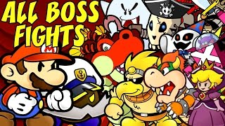 Paper Mario The Thousand Year Door - All Bosses