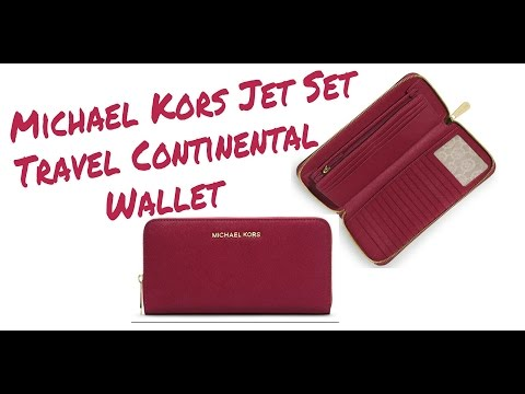 Michael kors Jet Set Travel Saffiano Continental Wallet | Wallet Review